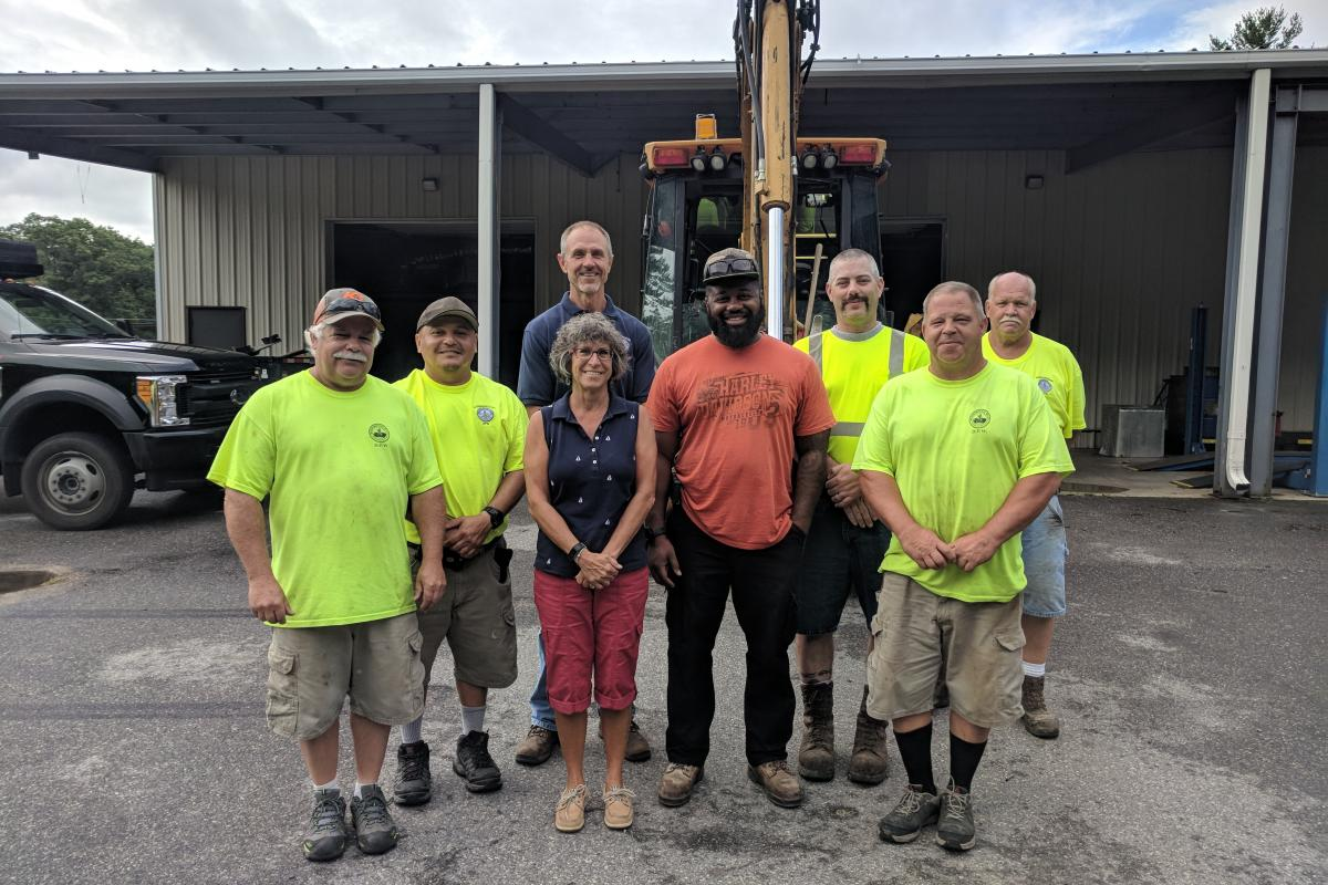 Department of Public Works Crew 2018