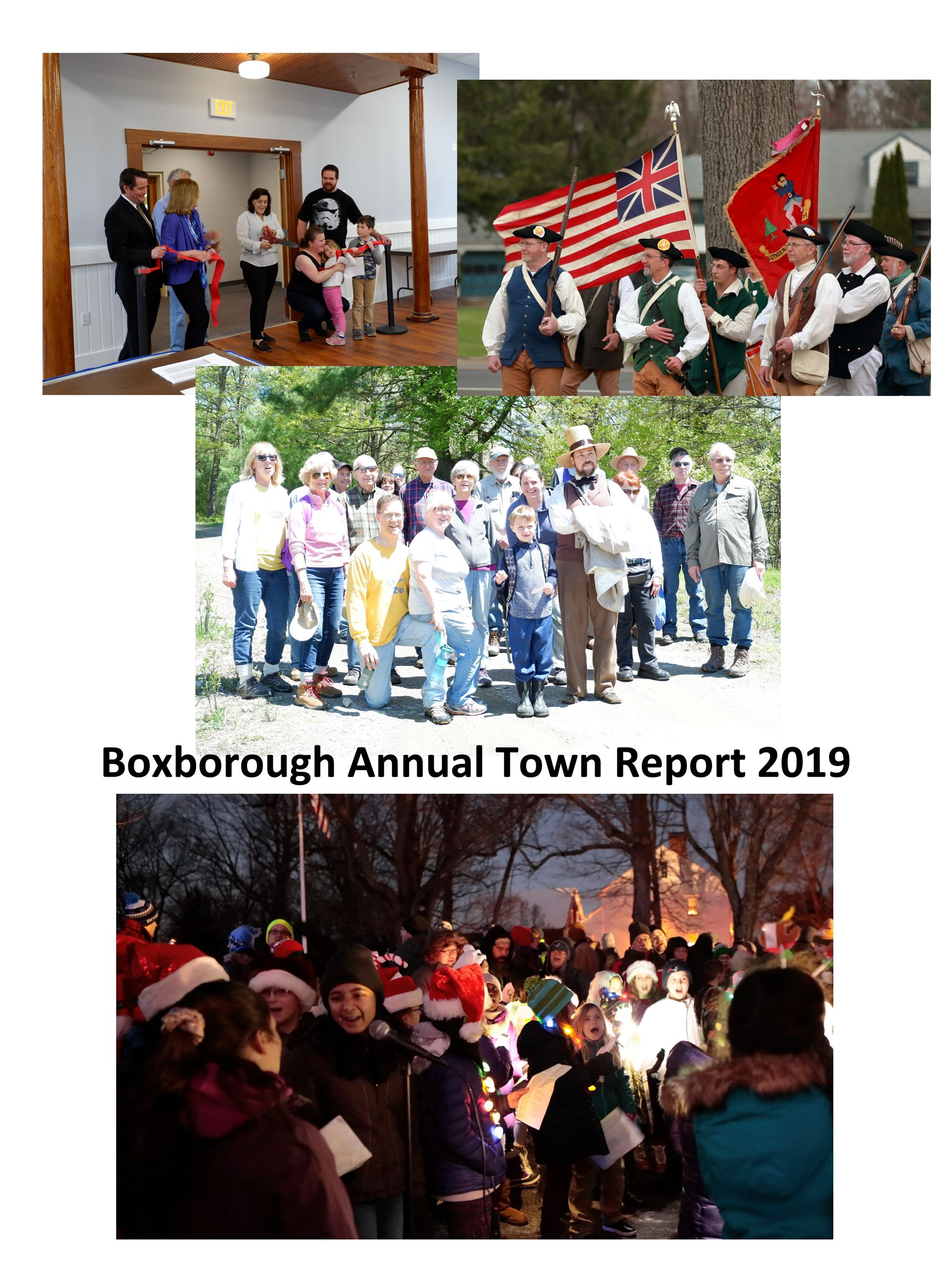 2019 Annual Town Report Cover