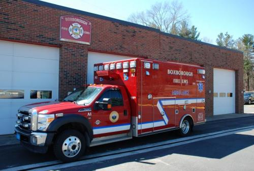 2014 Ford F450, BLS Ambulance