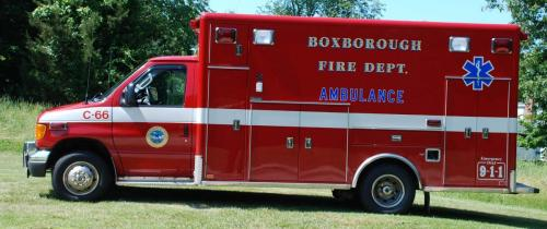 2006 Ford E450, BLS Ambulance