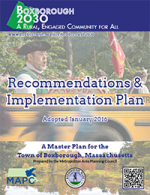 Boxborough 2030 Recommendations and Implementation Plan Cover